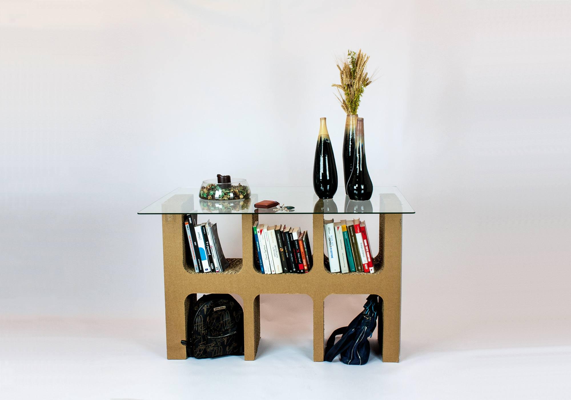 Mobili Per Ufficio Misterbianco : Kattuni arredi in cartone mobili arredamenti design in cartone