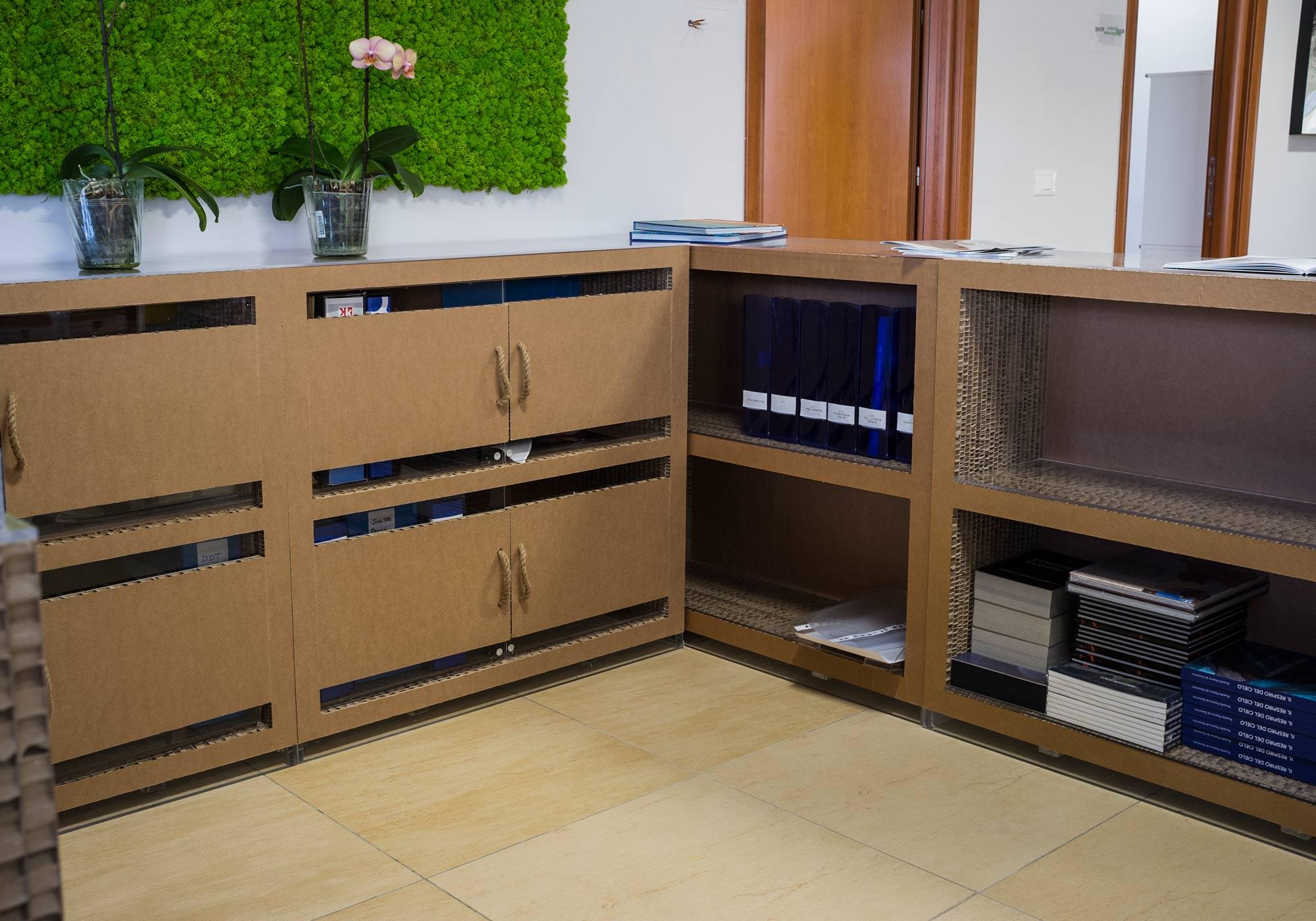 Mobili con materiali di riciclo perfect arredare casa con - Materiali per mobili ...